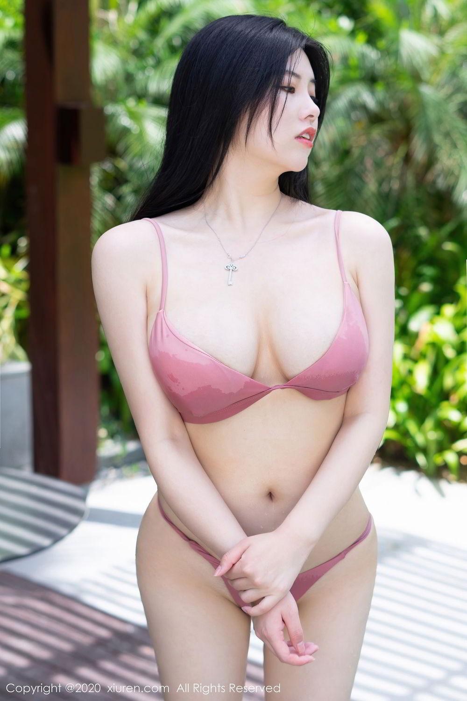 [XiuRen] Vol.2491 Na Lu Selena 15P, Bikini, Na Lu Selena, Swim Pool, Xiuren