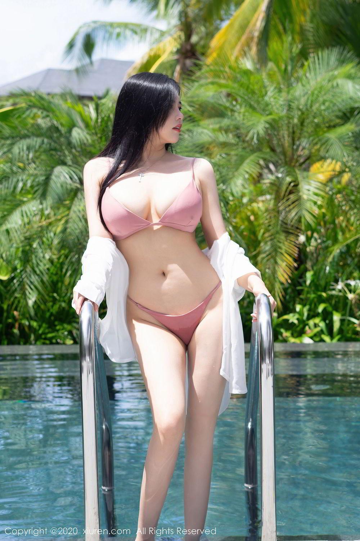 [XiuRen] Vol.2491 Na Lu Selena 23P, Bikini, Na Lu Selena, Swim Pool, Xiuren