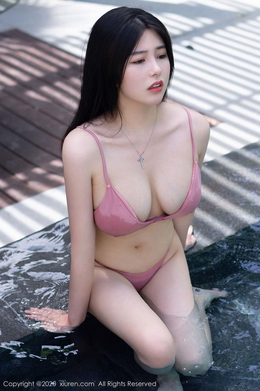 [XiuRen] Vol.2491 Na Lu Selena 26P, Bikini, Na Lu Selena, Swim Pool, Xiuren