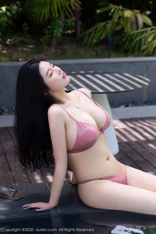 [XiuRen] Vol.2491 Na Lu Selena 28P, Bikini, Na Lu Selena, Swim Pool, Xiuren