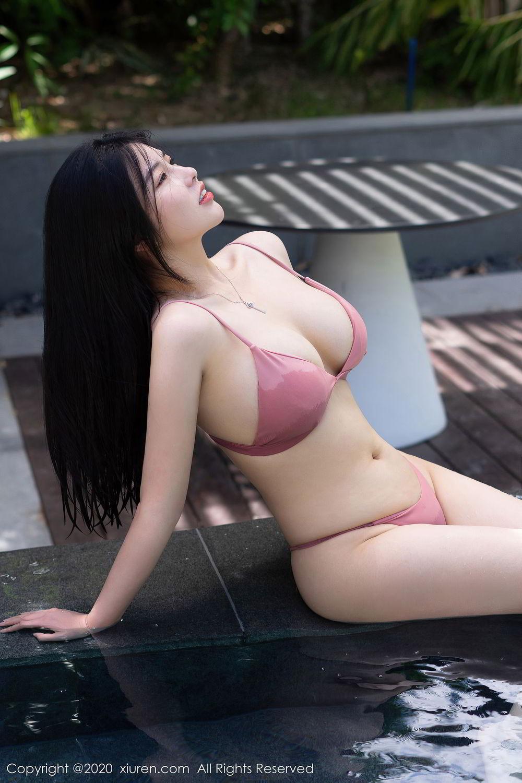 [XiuRen] Vol.2491 Na Lu Selena 29P, Bikini, Na Lu Selena, Swim Pool, Xiuren