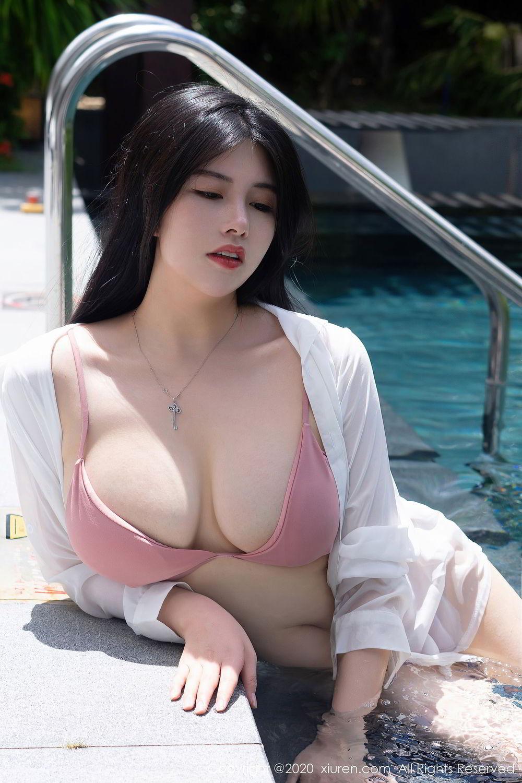 [XiuRen] Vol.2491 Na Lu Selena 2P, Bikini, Na Lu Selena, Swim Pool, Xiuren