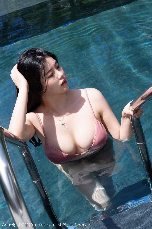 [XiuRen] Vol.2491 Na Lu Selena 32P, Bikini, Na Lu Selena, Swim Pool, Xiuren
