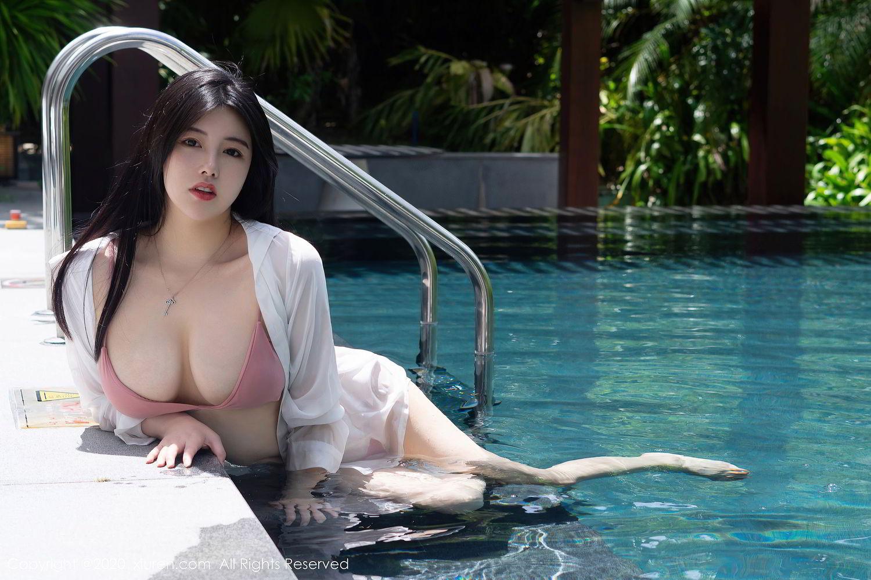 [XiuRen] Vol.2491 Na Lu Selena 3P, Bikini, Na Lu Selena, Swim Pool, Xiuren