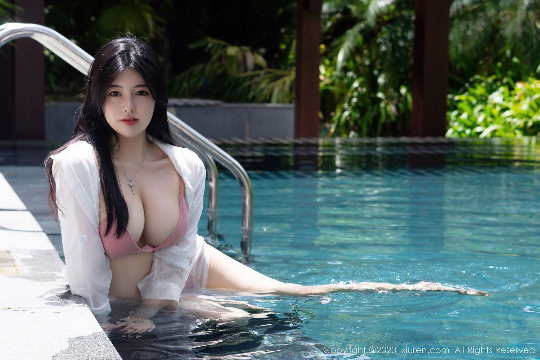 [XiuRen] Vol.2491 Na Lu Selena 4P, Bikini, Na Lu Selena, Swim Pool, Xiuren