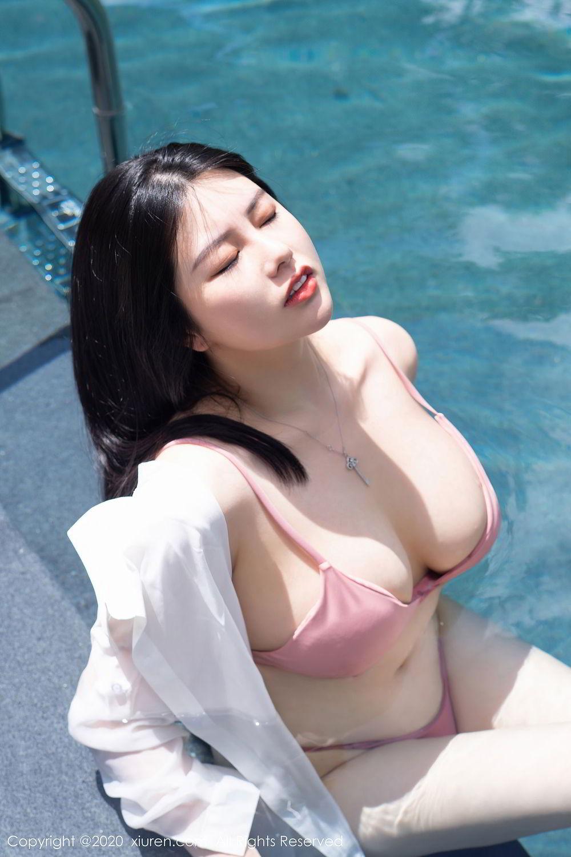 [XiuRen] Vol.2491 Na Lu Selena 5P, Bikini, Na Lu Selena, Swim Pool, Xiuren