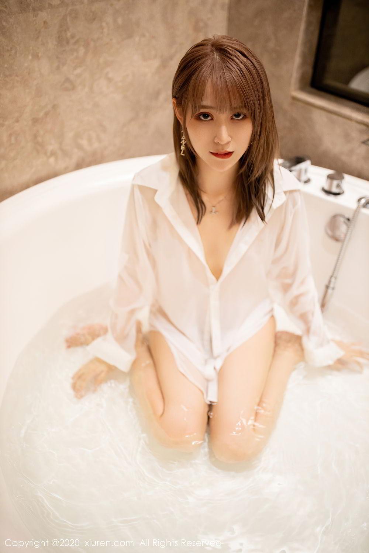 [XiuRen] Vol.2495 Zhou Mu Xi 27P, Bathroom, Slim, Wet, Xiuren, Zhou Mu Xi