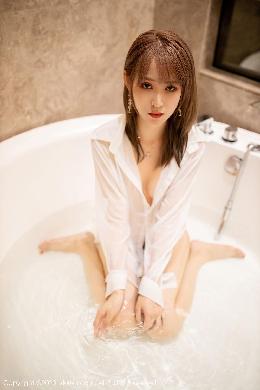 [XiuRen] Vol.2495 Zhou Mu Xi 29P, Bathroom, Slim, Wet, Xiuren, Zhou Mu Xi