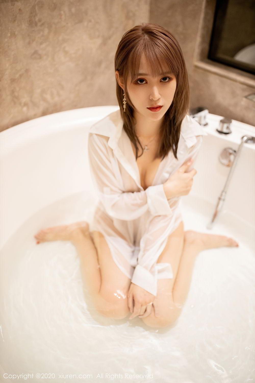 [XiuRen] Vol.2495 Zhou Mu Xi 30P, Bathroom, Slim, Wet, Xiuren, Zhou Mu Xi