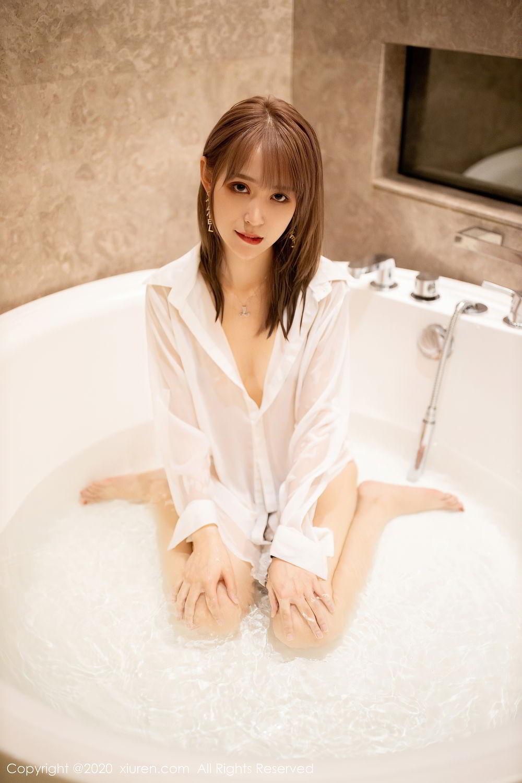 [XiuRen] Vol.2495 Zhou Mu Xi 33P, Bathroom, Slim, Wet, Xiuren, Zhou Mu Xi