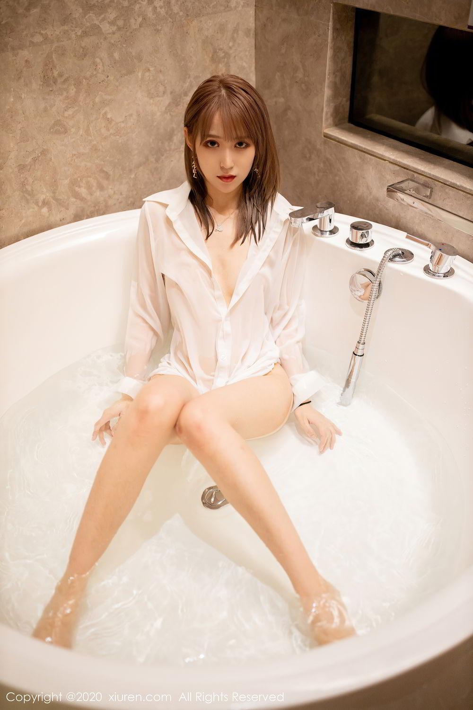 [XiuRen] Vol.2495 Zhou Mu Xi 36P, Bathroom, Slim, Wet, Xiuren, Zhou Mu Xi