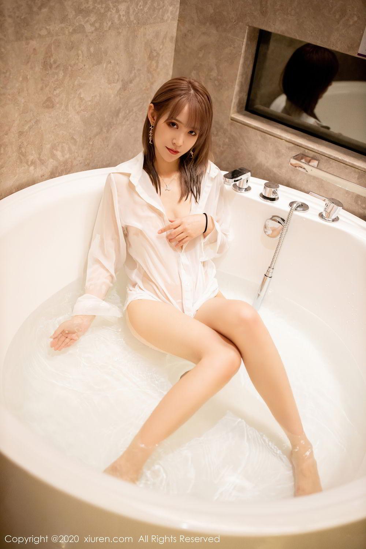 [XiuRen] Vol.2495 Zhou Mu Xi 39P, Bathroom, Slim, Wet, Xiuren, Zhou Mu Xi