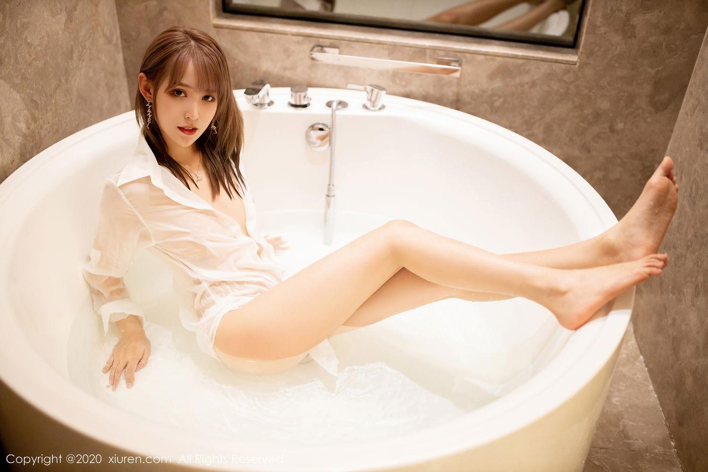 [XiuRen] Vol.2495 Zhou Mu Xi 41P, Bathroom, Slim, Wet, Xiuren, Zhou Mu Xi