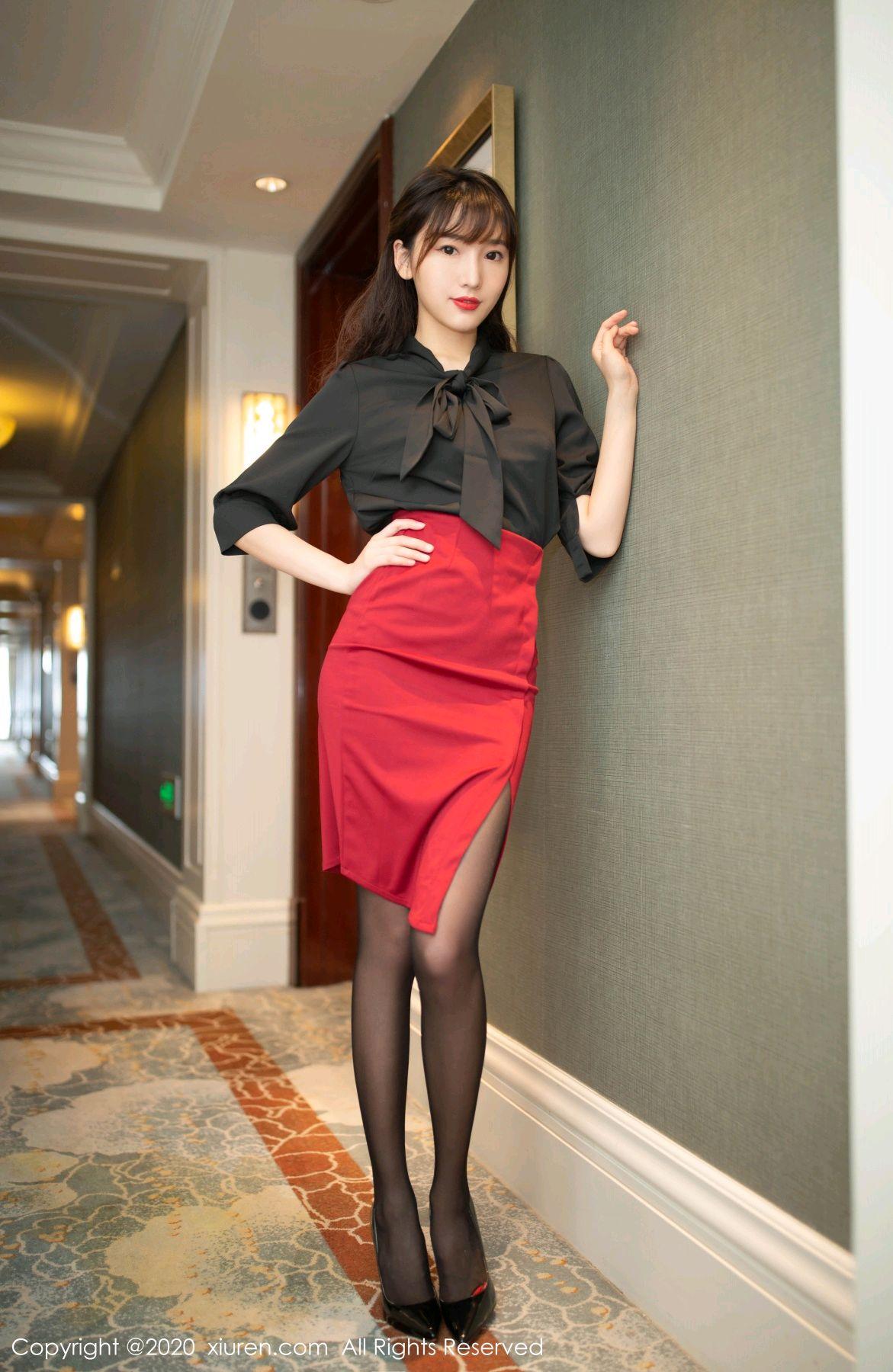 [XiuRen] Vol.2498 Lu Xuan Xuan 2P, Black Silk, Lu Xuan Xuan, Tall, Underwear, Xiuren