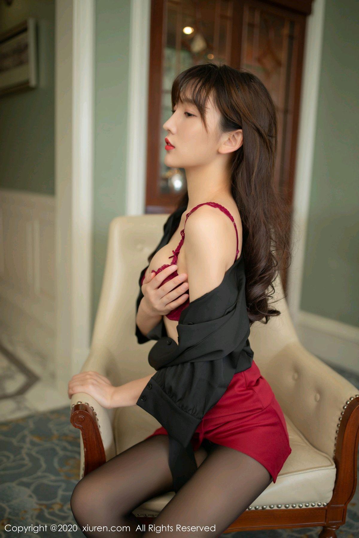 [XiuRen] Vol.2498 Lu Xuan Xuan 30P, Black Silk, Lu Xuan Xuan, Tall, Underwear, Xiuren