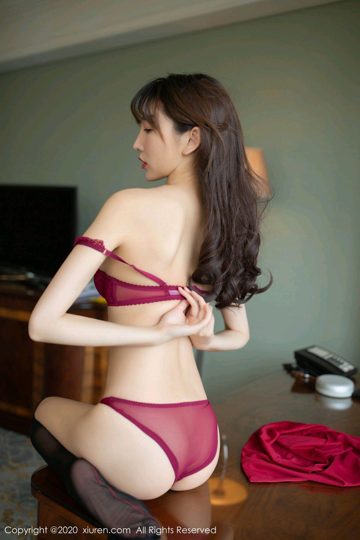 [XiuRen] Vol.2498 Lu Xuan Xuan 67P, Black Silk, Lu Xuan Xuan, Tall, Underwear, Xiuren