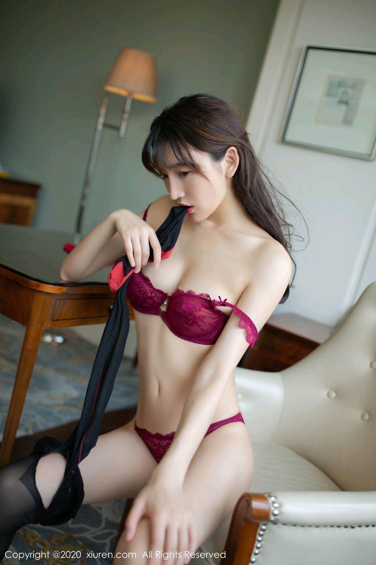[XiuRen] Vol.2498 Lu Xuan Xuan 78P, Black Silk, Lu Xuan Xuan, Tall, Underwear, Xiuren