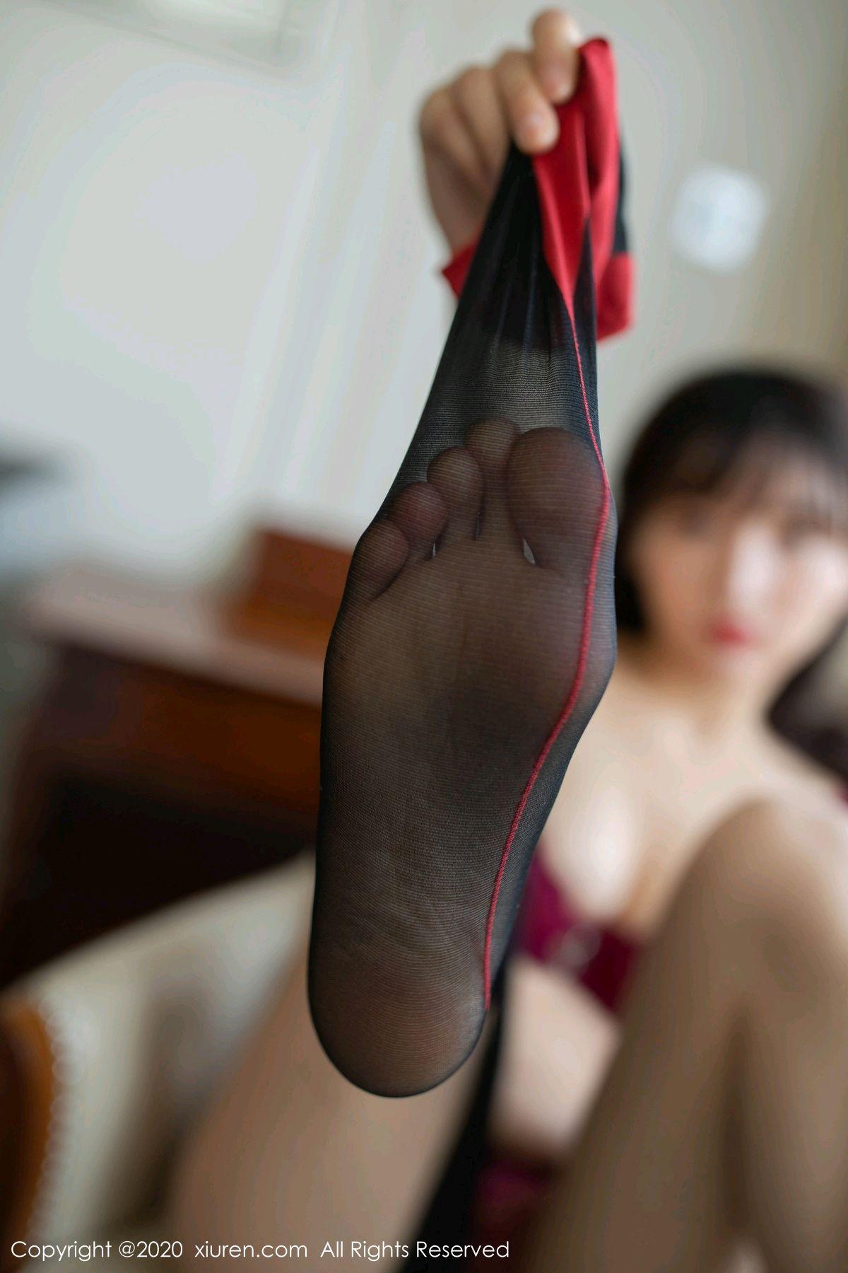[XiuRen] Vol.2498 Lu Xuan Xuan 81P, Black Silk, Lu Xuan Xuan, Tall, Underwear, Xiuren