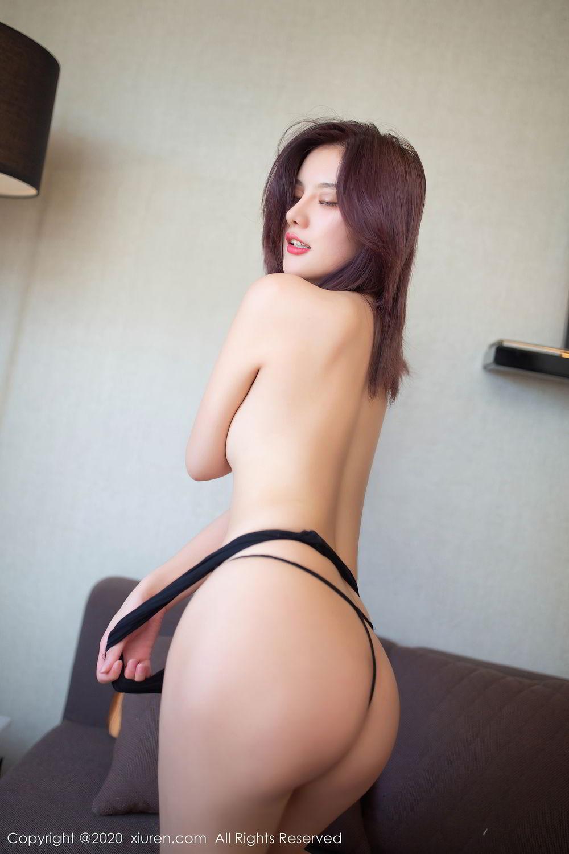 [XiuRen] Vol.2501 Jiu Shi A Zhu 43P, Black Silk, Jiu Shi A Zhu, Slim, Tall, Xiuren