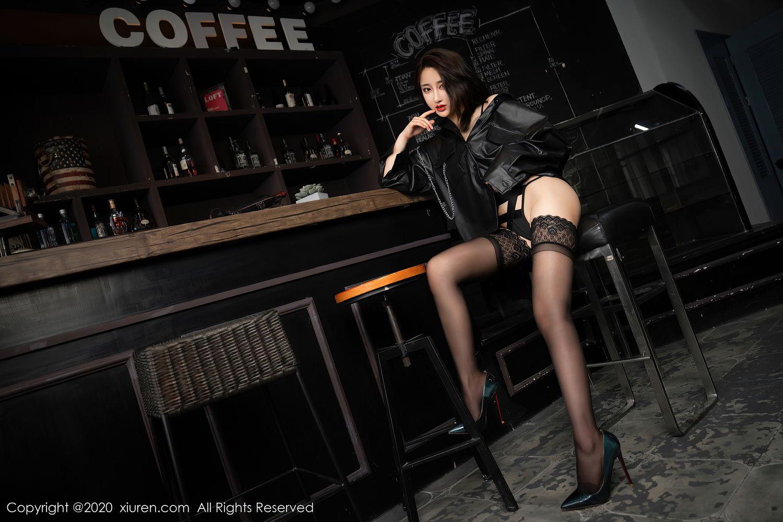 [XiuRen] Vol.2503 Lin Zi Xin 15P, Black Silk, Cool, Lin Zi Xin, Underwear, Xiuren