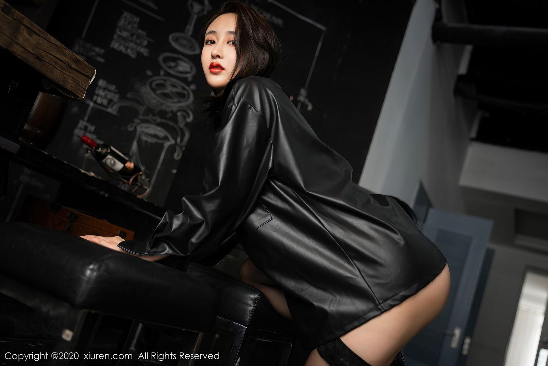 [XiuRen] Vol.2503 Lin Zi Xin 21P, Black Silk, Cool, Lin Zi Xin, Underwear, Xiuren