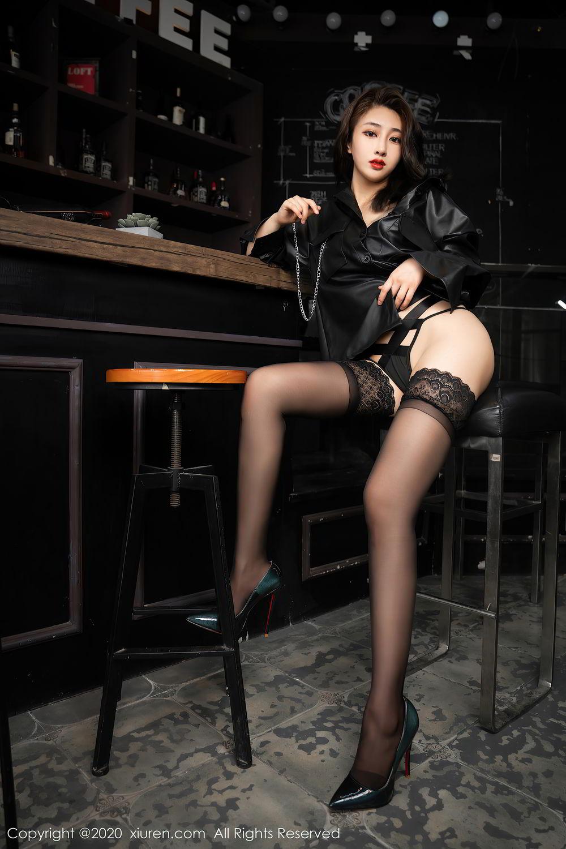 [XiuRen] Vol.2503 Lin Zi Xin 22P, Black Silk, Cool, Lin Zi Xin, Underwear, Xiuren