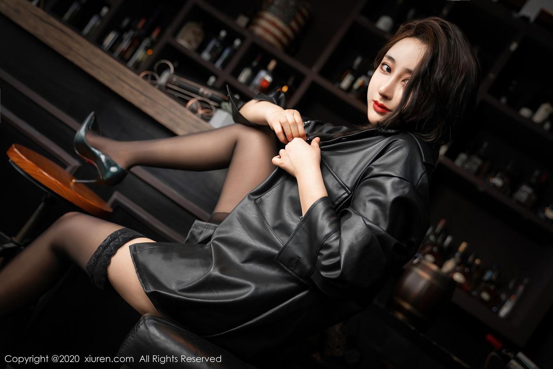 [XiuRen] Vol.2503 Lin Zi Xin 23P, Black Silk, Cool, Lin Zi Xin, Underwear, Xiuren