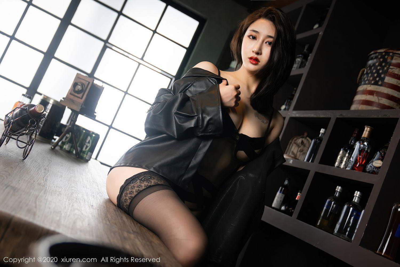 [XiuRen] Vol.2503 Lin Zi Xin 25P, Black Silk, Cool, Lin Zi Xin, Underwear, Xiuren