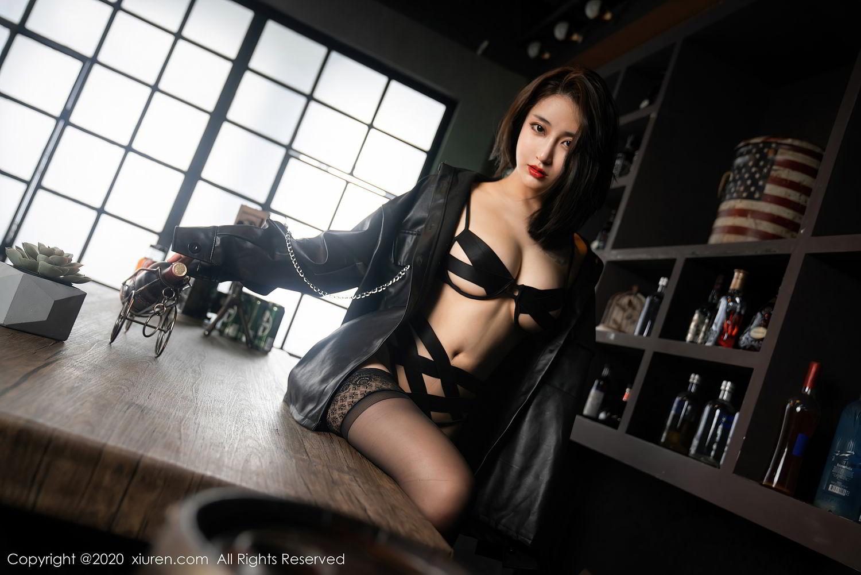 [XiuRen] Vol.2503 Lin Zi Xin 26P, Black Silk, Cool, Lin Zi Xin, Underwear, Xiuren