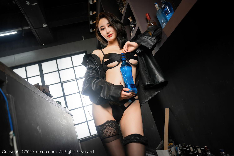 [XiuRen] Vol.2503 Lin Zi Xin 29P, Black Silk, Cool, Lin Zi Xin, Underwear, Xiuren