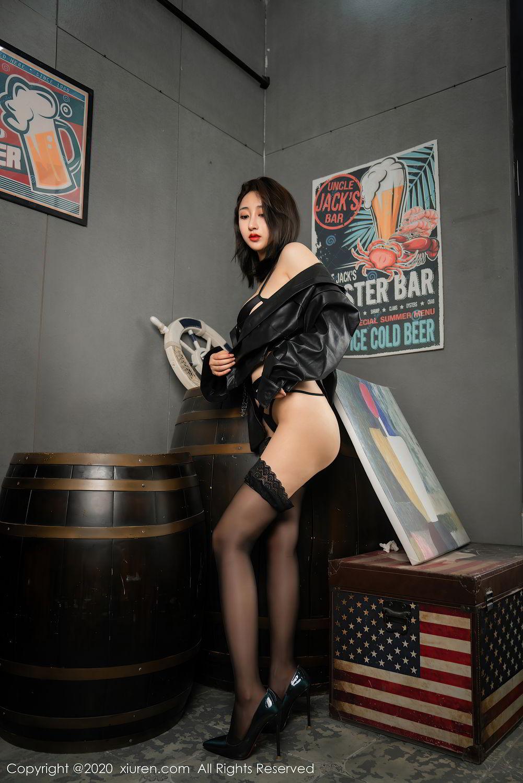 [XiuRen] Vol.2503 Lin Zi Xin 48P, Black Silk, Cool, Lin Zi Xin, Underwear, Xiuren