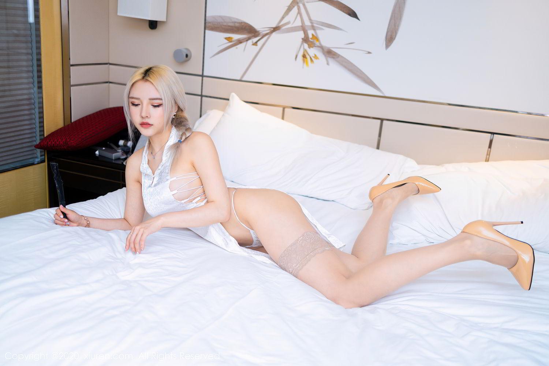 [XiuRen] Vol.2504 Miao Miao Xiao Jie Jie 14P, Cheongsam, Tall, Wang Zhao Lu, Xiuren