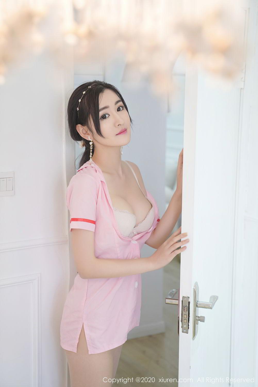 [XiuRen] Vol.2506 Shen Meng Yao 19P, Nurse, Shen Meng Yao, Underwear, Xiuren