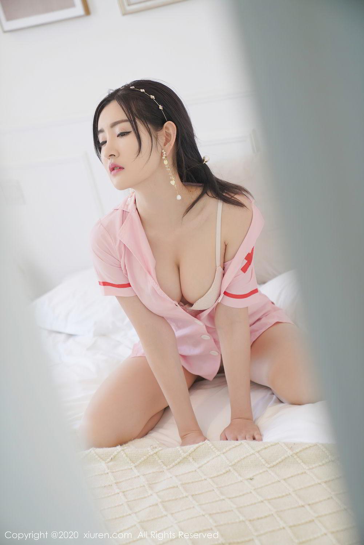 [XiuRen] Vol.2506 Shen Meng Yao 37P, Nurse, Shen Meng Yao, Underwear, Xiuren