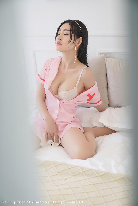 [XiuRen] Vol.2506 Shen Meng Yao 41P, Nurse, Shen Meng Yao, Underwear, Xiuren