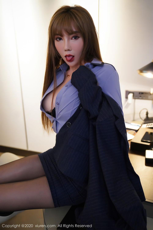 [XiuRen] Vol.2511 Meng Han Yao 27P, Black Silk, Meng Han Yao, Uniform, Xiuren