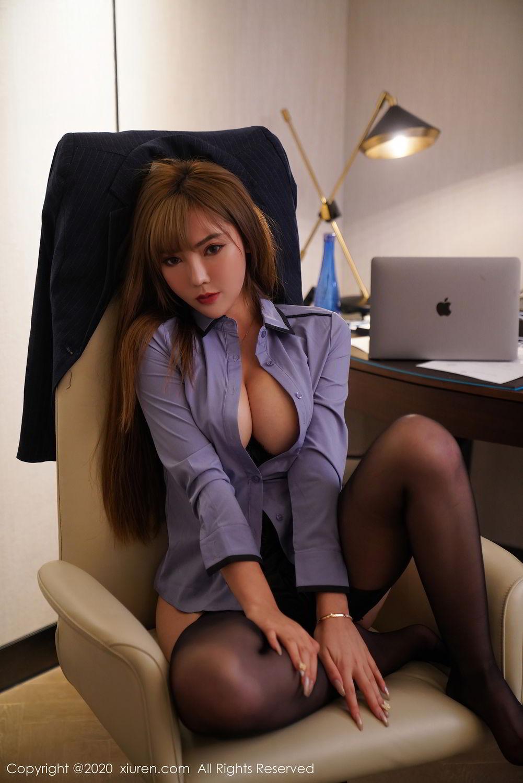 [XiuRen] Vol.2511 Meng Han Yao 70P, Black Silk, Meng Han Yao, Uniform, Xiuren