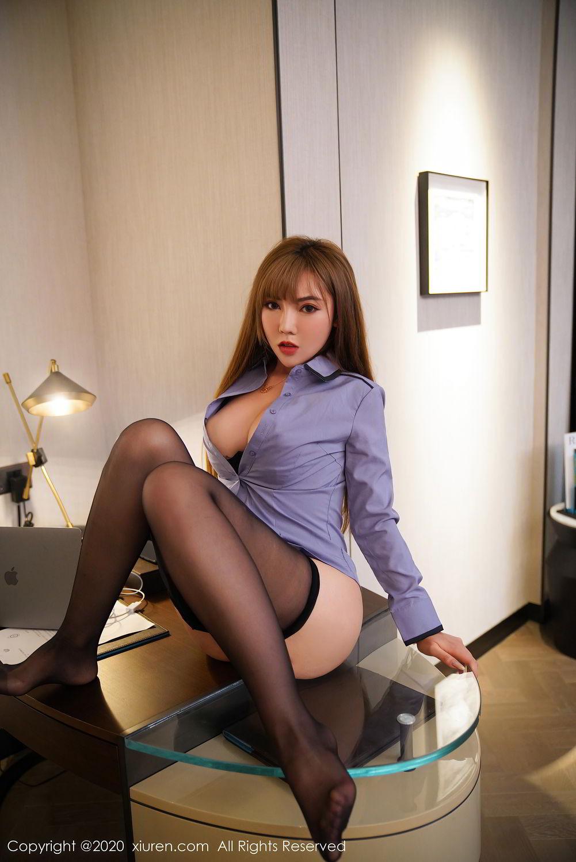 [XiuRen] Vol.2511 Meng Han Yao 72P, Black Silk, Meng Han Yao, Uniform, Xiuren