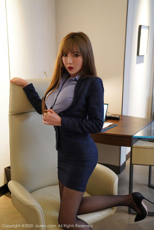 [XiuRen] Vol.2511 Meng Han Yao 80P, Black Silk, Meng Han Yao, Uniform, Xiuren