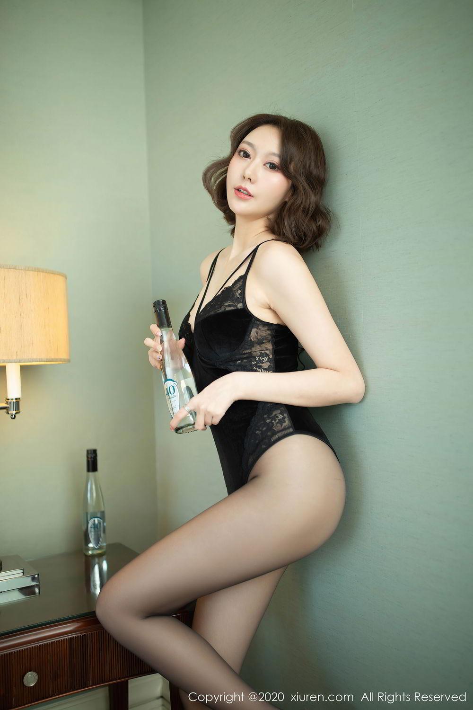 [XiuRen] Vol.2513 Yi Xuan 12P, Black Silk, Fu Yi Xuan, Tall, Temperament, Xiuren