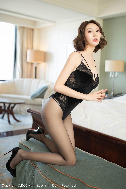 [XiuRen] Vol.2513 Yi Xuan 27P, Black Silk, Fu Yi Xuan, Tall, Temperament, Xiuren