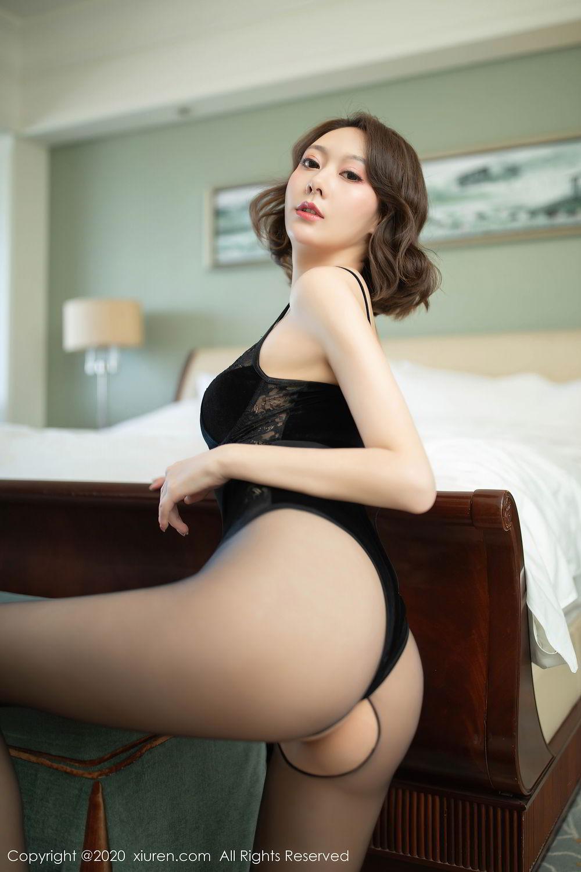 [XiuRen] Vol.2513 Yi Xuan 33P, Black Silk, Fu Yi Xuan, Tall, Temperament, Xiuren