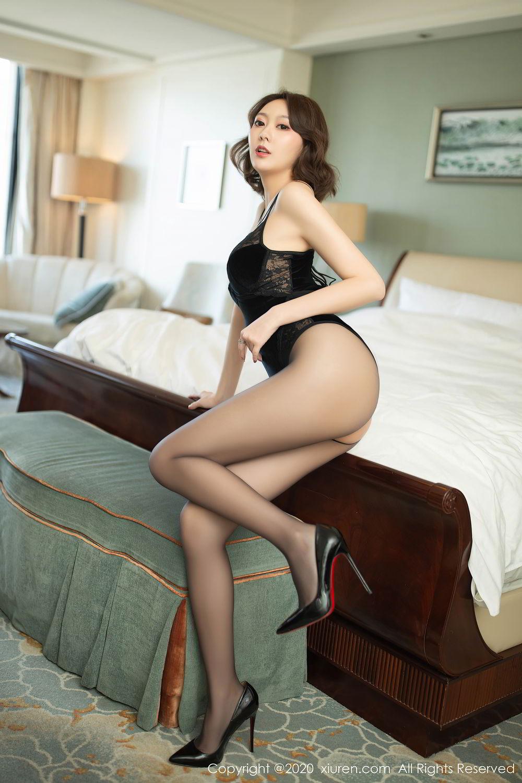 [XiuRen] Vol.2513 Yi Xuan 3P, Black Silk, Fu Yi Xuan, Tall, Temperament, Xiuren