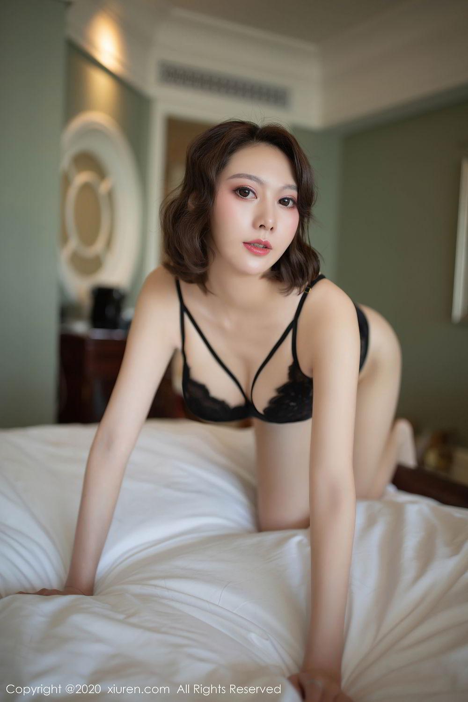 [XiuRen] Vol.2513 Yi Xuan 63P, Black Silk, Fu Yi Xuan, Tall, Temperament, Xiuren
