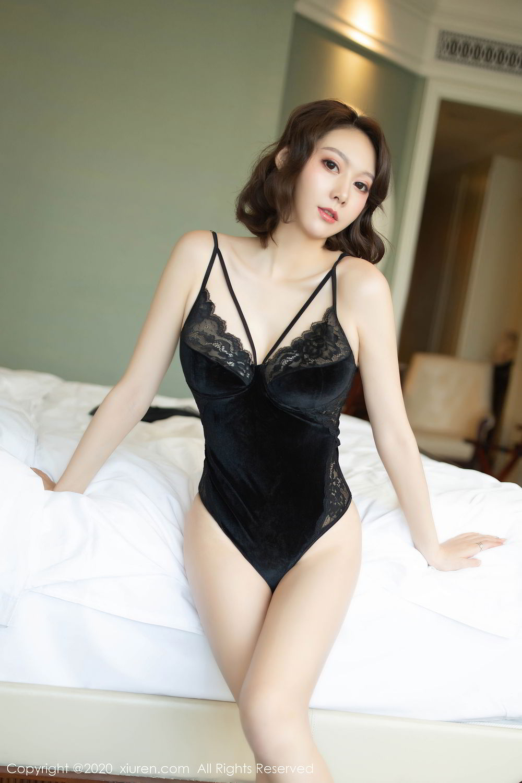 [XiuRen] Vol.2513 Yi Xuan 64P, Black Silk, Fu Yi Xuan, Tall, Temperament, Xiuren