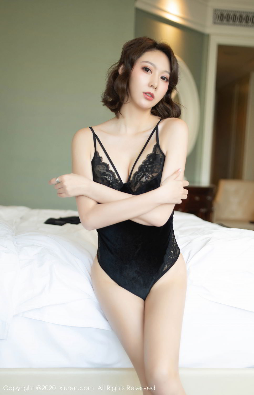 [XiuRen] Vol.2513 Yi Xuan 65P, Black Silk, Fu Yi Xuan, Tall, Temperament, Xiuren