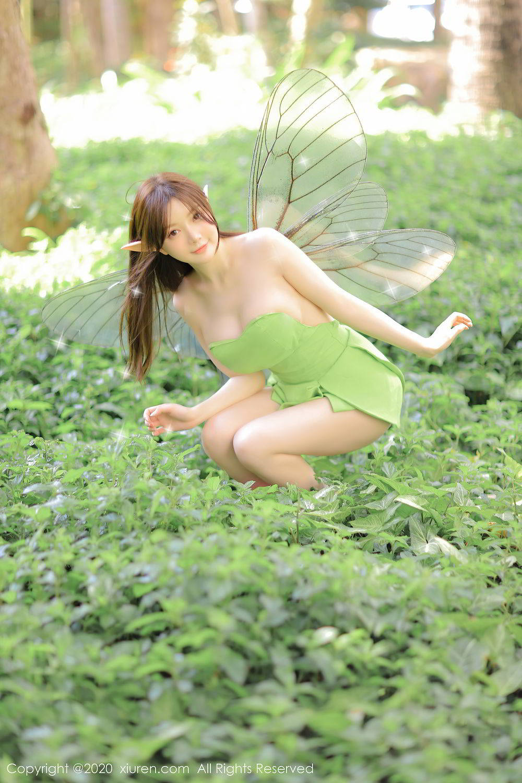 [XiuRen] Vol.2517 Nuo Mei Zi 105P, Baby Face Big Boobs, Mini Da Meng Meng, Underwear, Xiuren, 肉晴