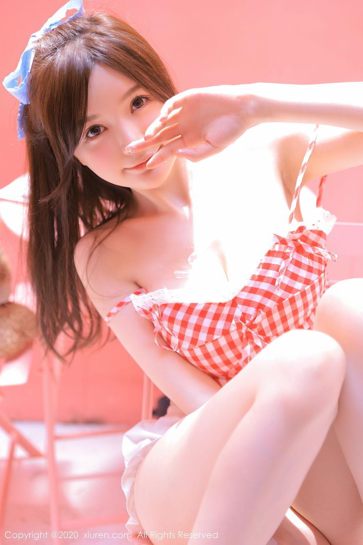 [XiuRen] Vol.2517 Nuo Mei Zi 14P, Baby Face Big Boobs, Mini Da Meng Meng, Underwear, Xiuren, 肉晴