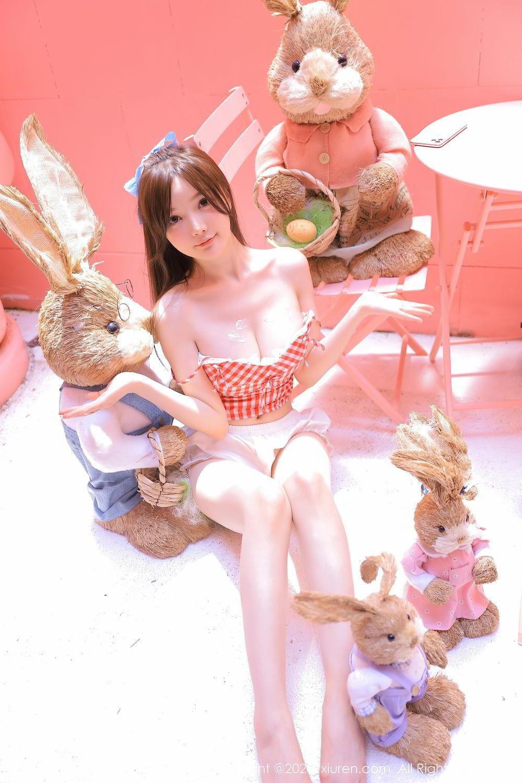 [XiuRen] Vol.2517 Nuo Mei Zi 15P, Baby Face Big Boobs, Mini Da Meng Meng, Underwear, Xiuren, 肉晴