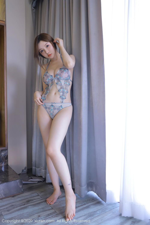 [XiuRen] Vol.2517 Nuo Mei Zi 16P, Baby Face Big Boobs, Mini Da Meng Meng, Underwear, Xiuren, 肉晴